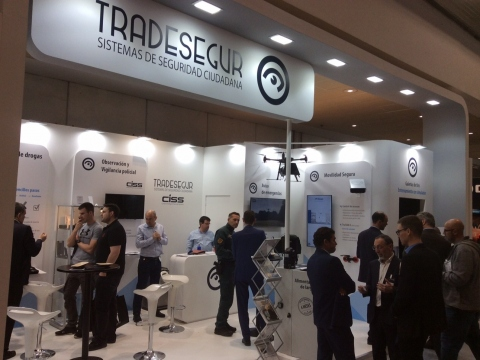 Messestand SICUR Madrid 2020