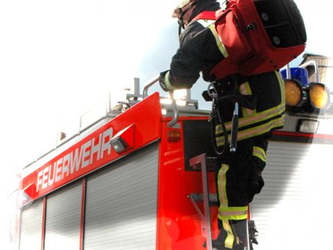 LSA-X-MK1 Feuerwehreinsatz