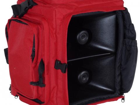 Produktabbildung Lautsprechersystem LSA-X-MK1 rot