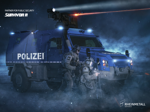 Einsatzfahrzeug SURVIVOR R | Rheinmetall Defence | Rheinmetall AG