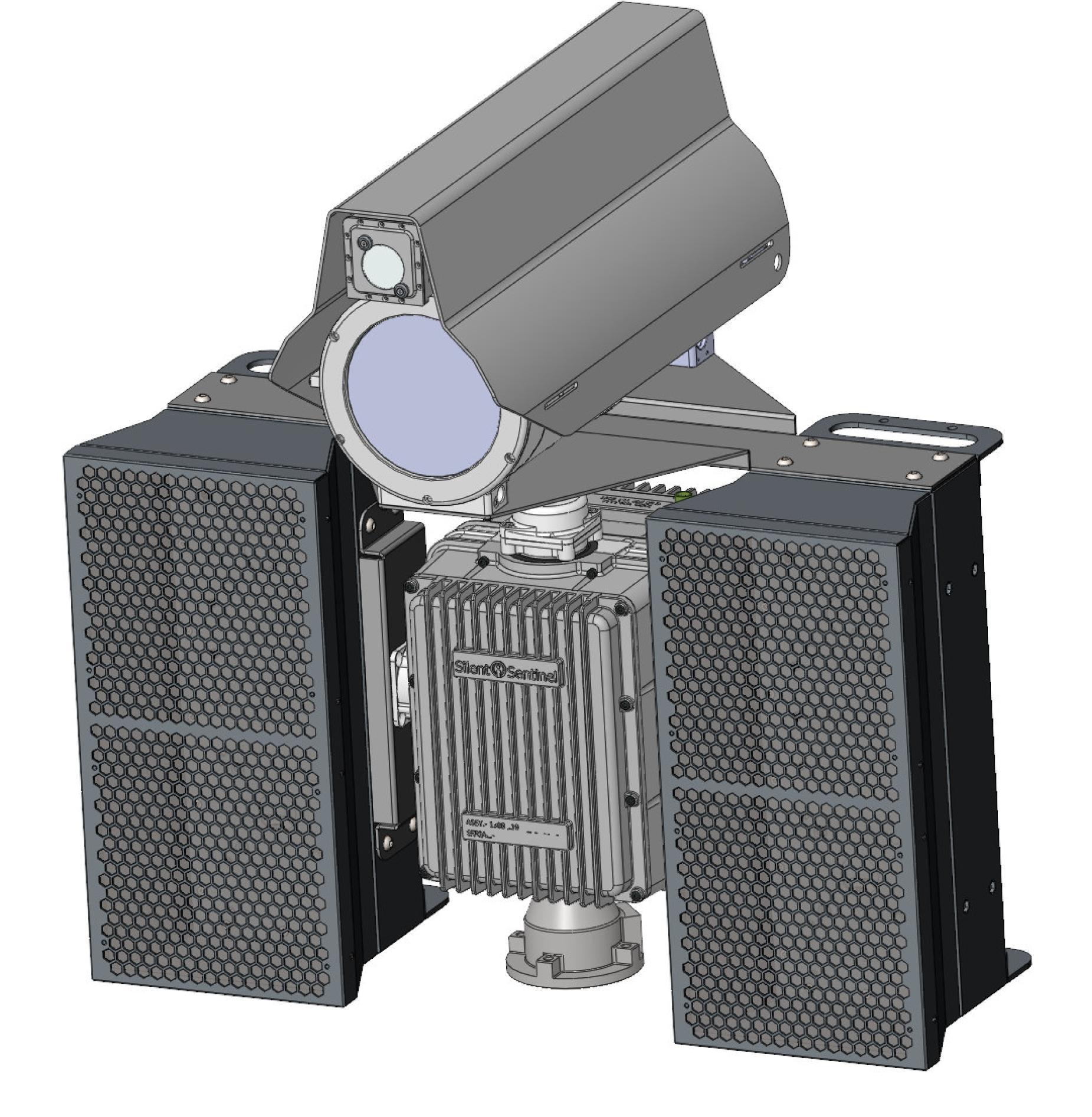 2x AHD M-215 X auf PTZ-Head Silent Sentinel Jaeger