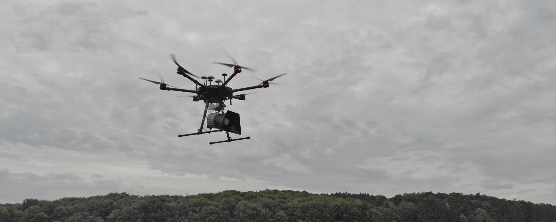 Drone loudspeaker speaker CDL-136 DJI Matrice 600 Pro