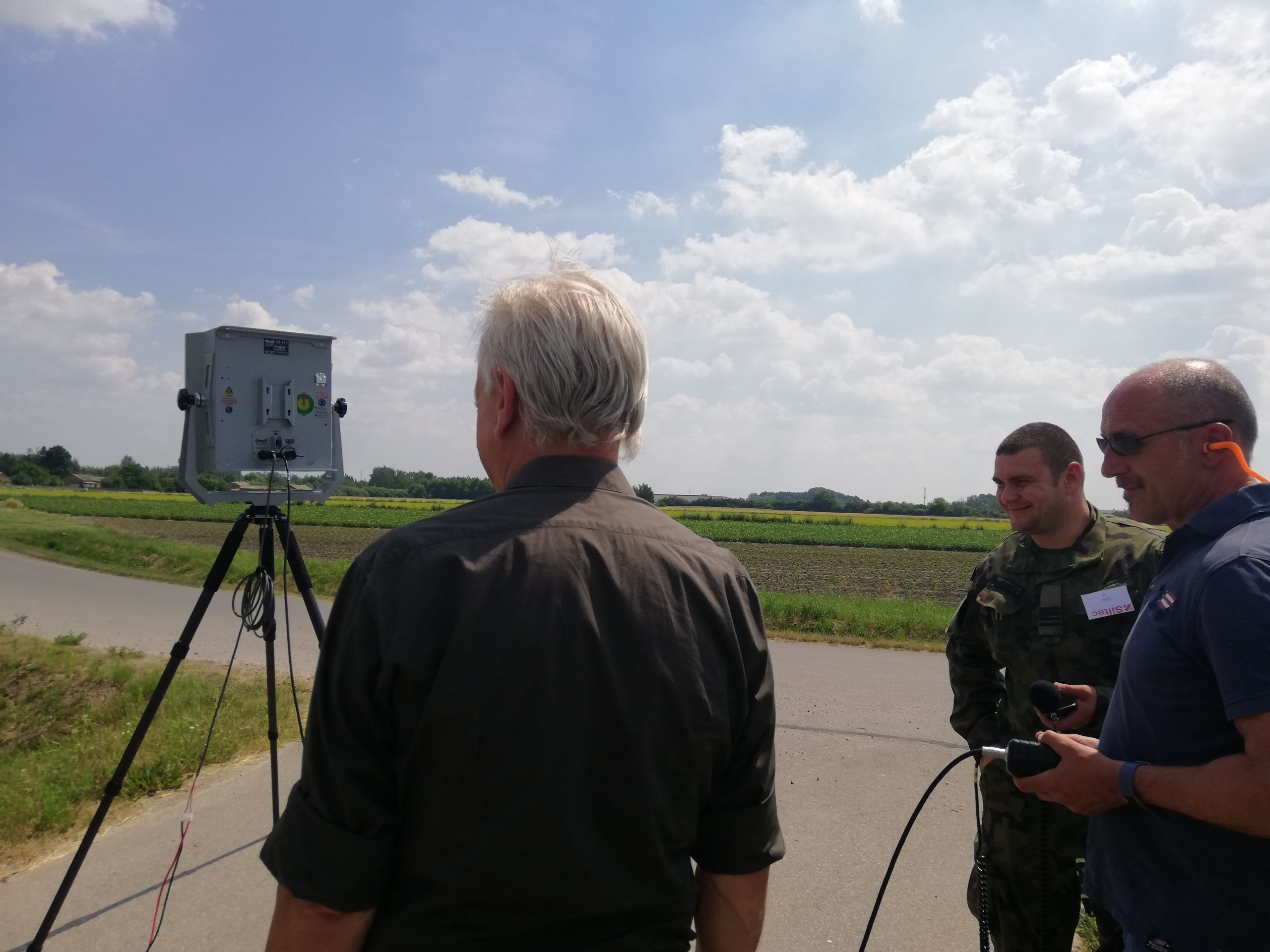 Vorführung AHD Hochleistungs-Lautsprecher M-415 Outdoor Long Range