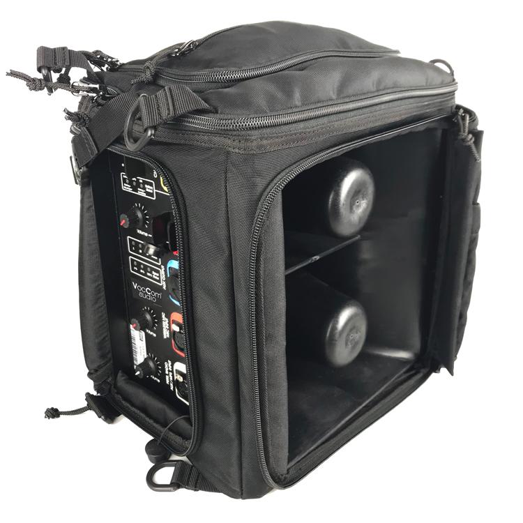 Lautsprecher LSA-X-MK1 schwarzer Rucksack