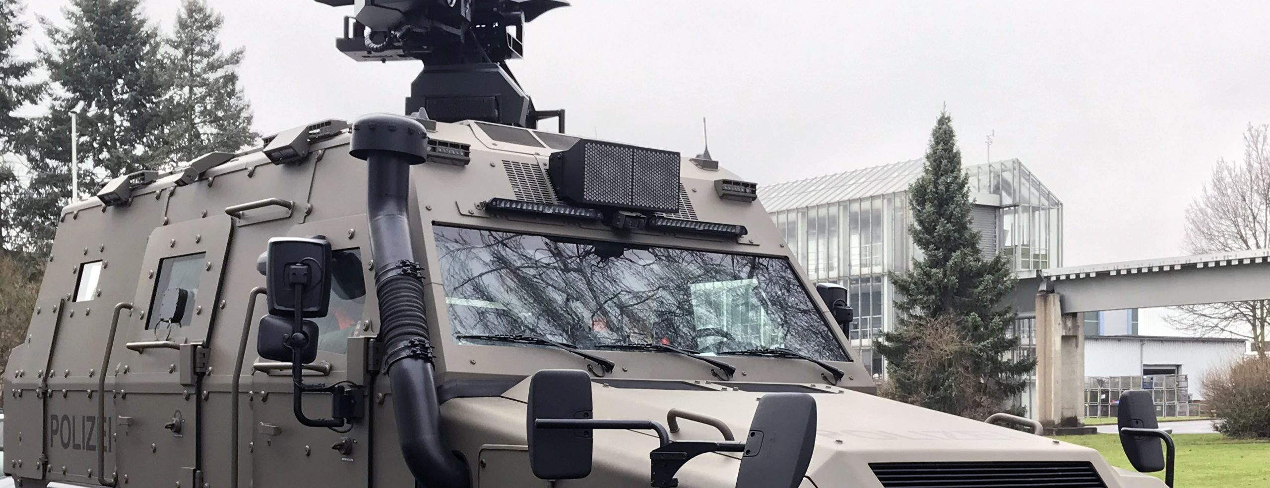 Survivor R mit AHD M-215P für SEK Thüringen