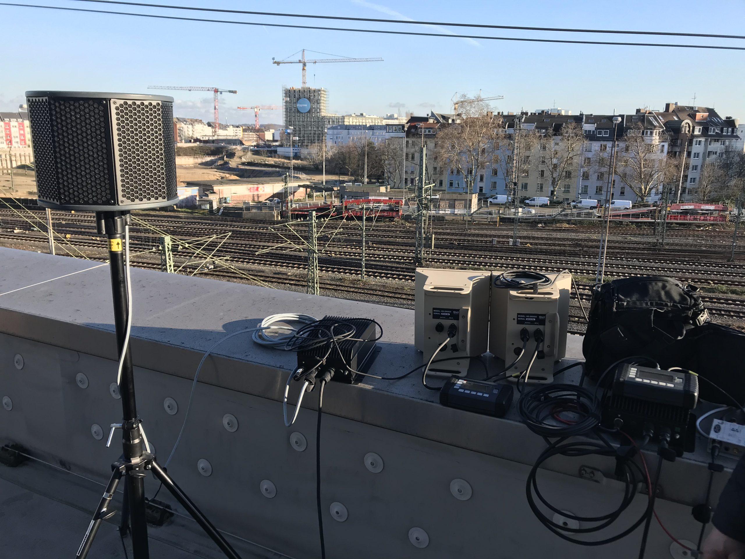 AHD und 360°-Lautsprecher für Kunstinstallation